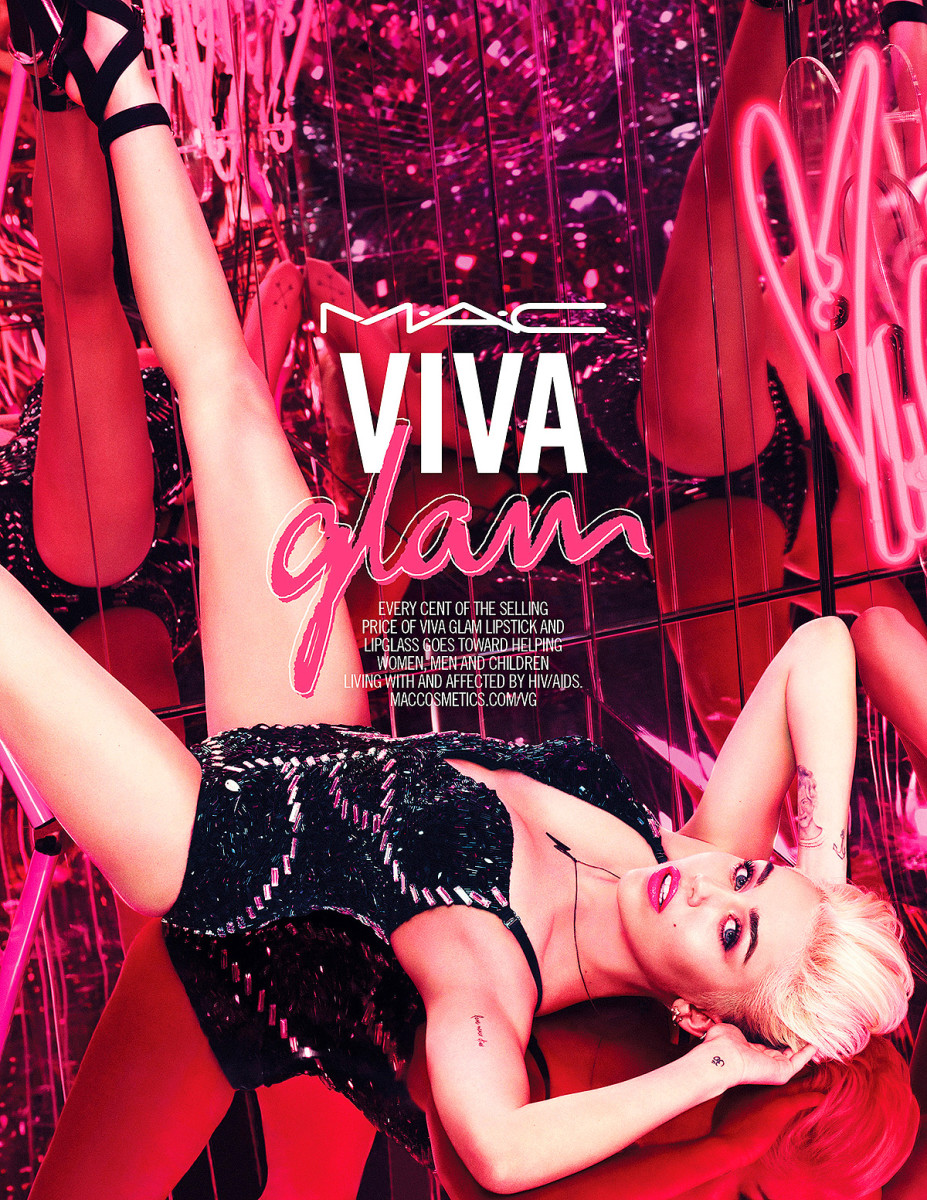 MAC Viva Glam Miley Cyrus 2015 ad artwork_imabeautygeek.com
