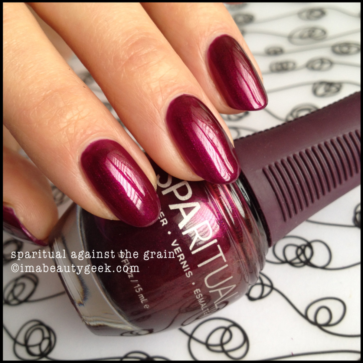 Sparitual Against The Grain Swatch 2