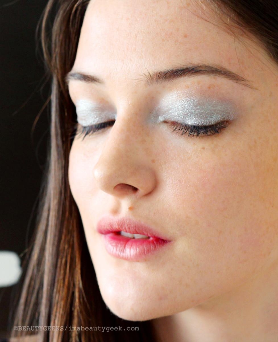 stila liquid metal eye makeup_video tutorial with victoria beckham's makeup artist and stila global pro Sarah Lucero