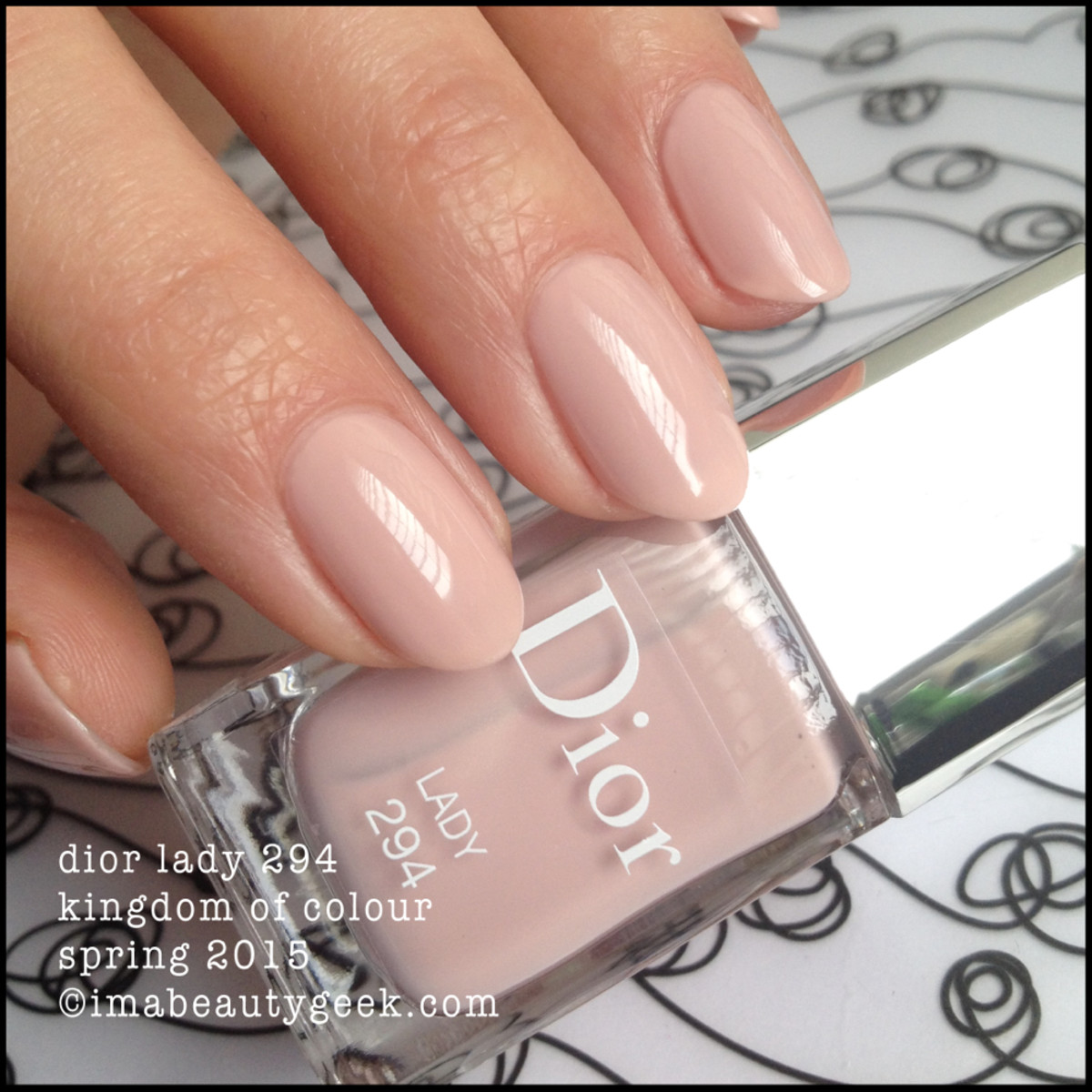Dior Lady 294 Kingdom of Colour Spring 2015