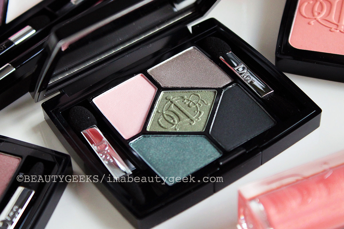 DIOR SPRING 2015 KINGDOM OF COLOURS HOUSE OF GREENS EYESHADOW PALETTE_IMABEAUTYGEEK.COM
