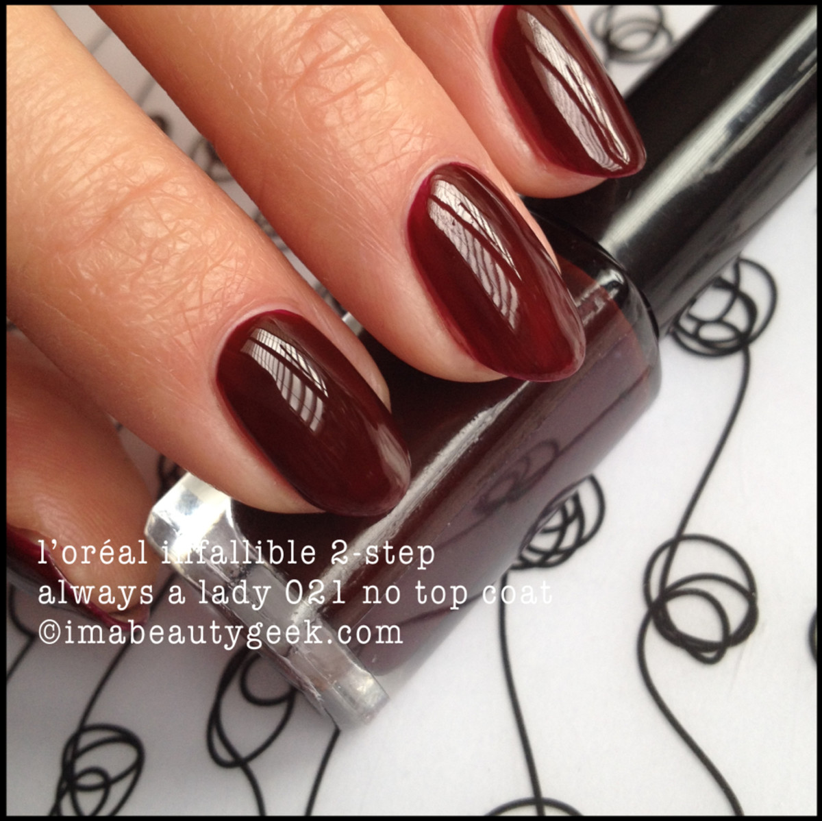 LOreal Infallible 2 step Always a Lady 021 No Top Coat