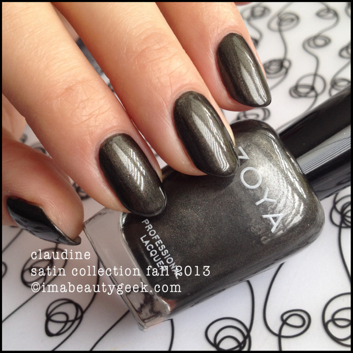 Zoya Claudine Fall 2013 Satin Collection