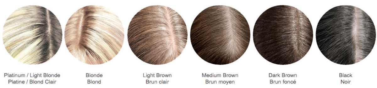 color wow root cover up mineral powder shade range
