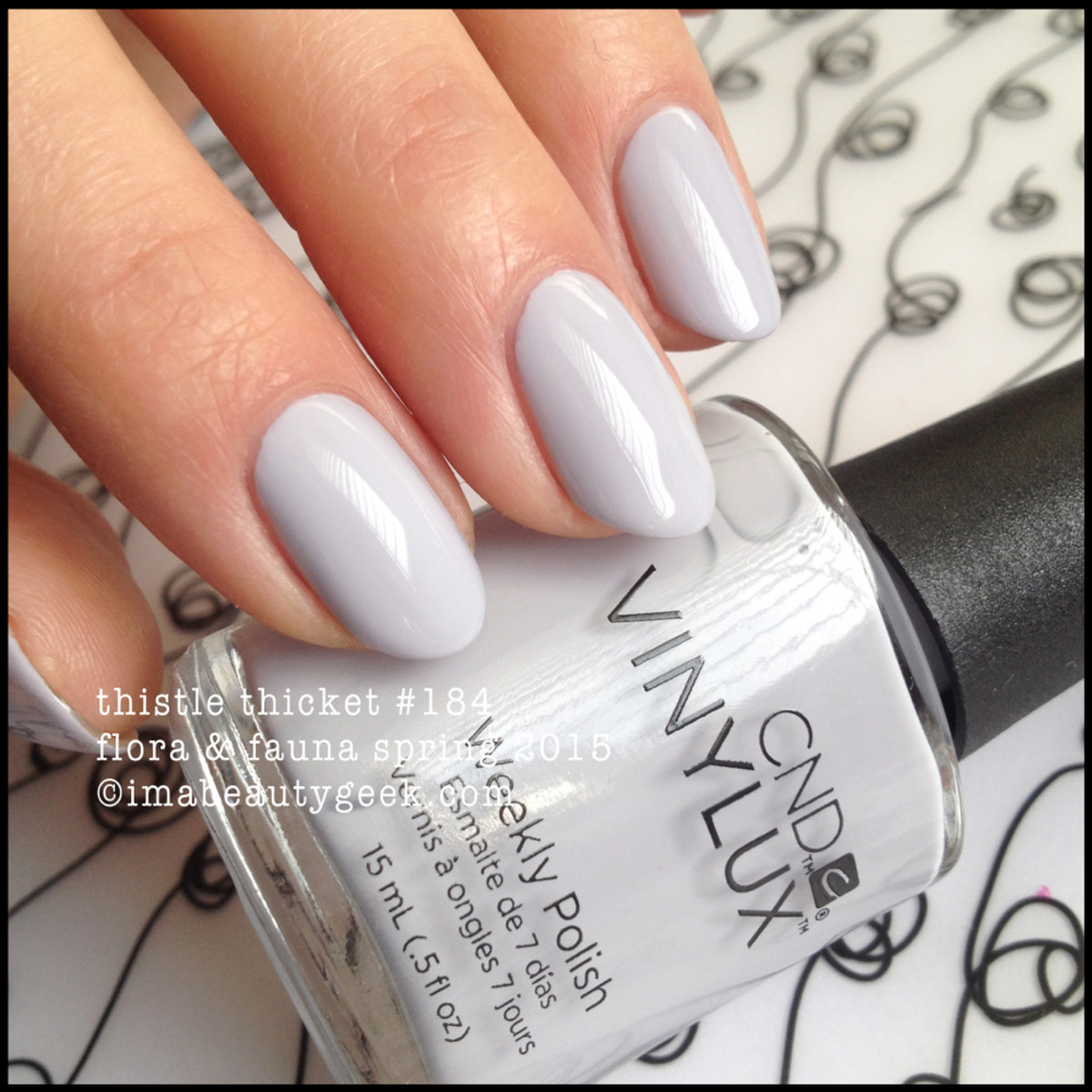 CND Vinylux Thistle Thicket 184 Flora Fauna Spring 2015