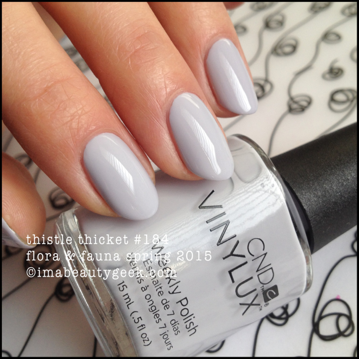 CND Vinylux Thistle Thicket Spring 2015 Flora Fauna