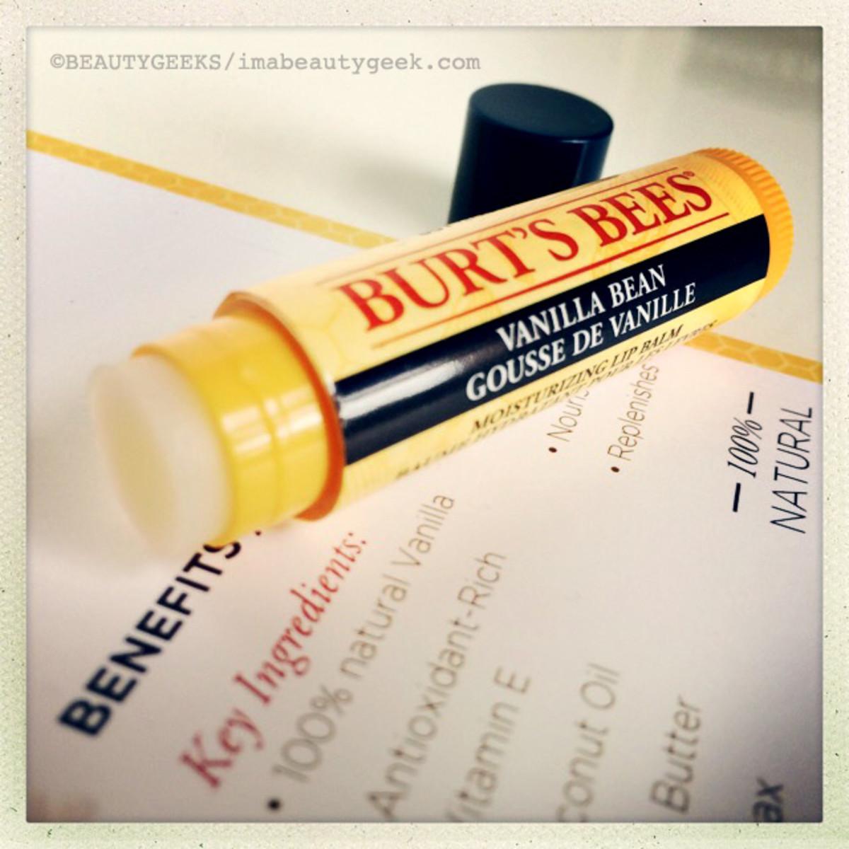 Burt's Bees Natural Vanilla Lip Balm