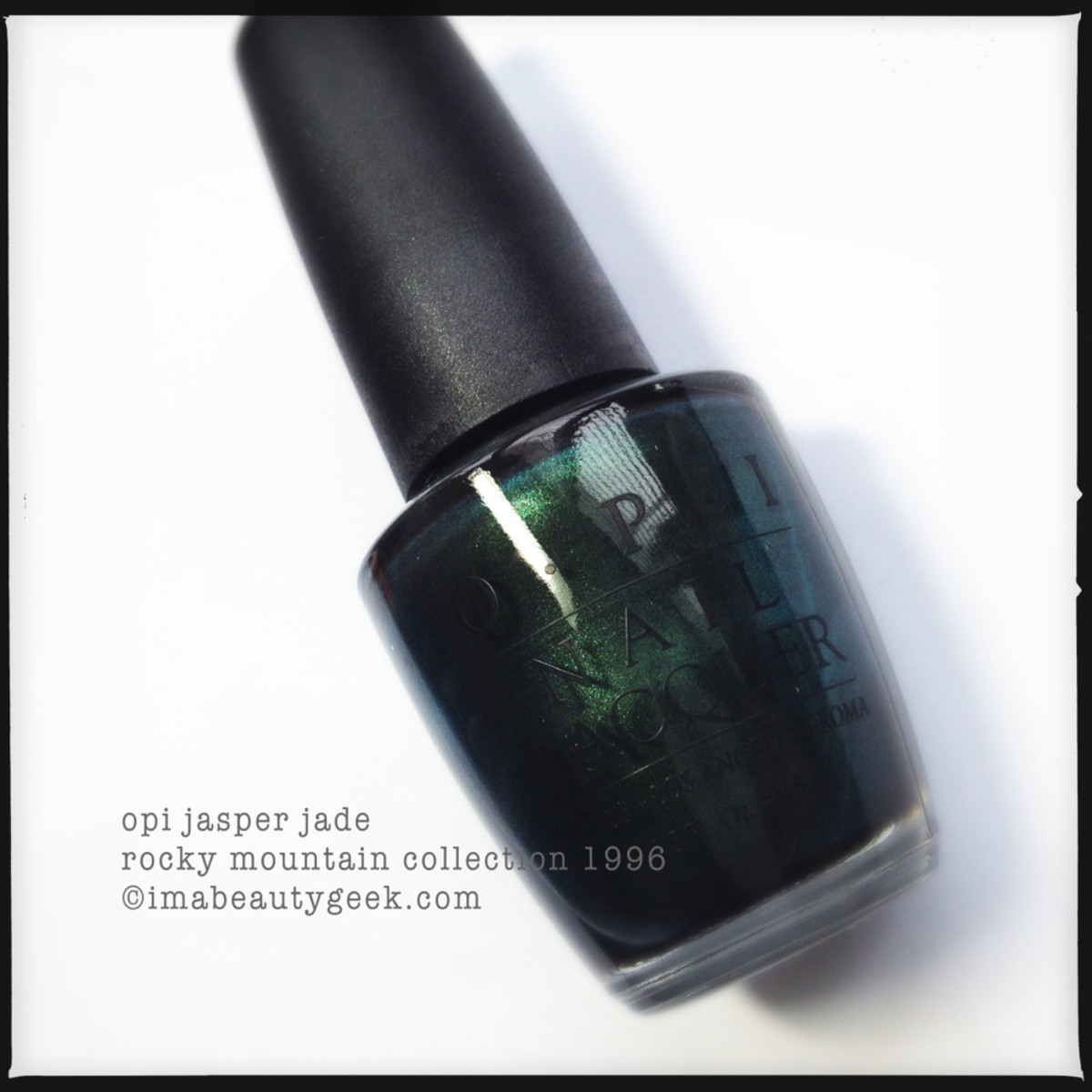 OPI Jasper Jade Rocky Mountain Collection 1996_2
