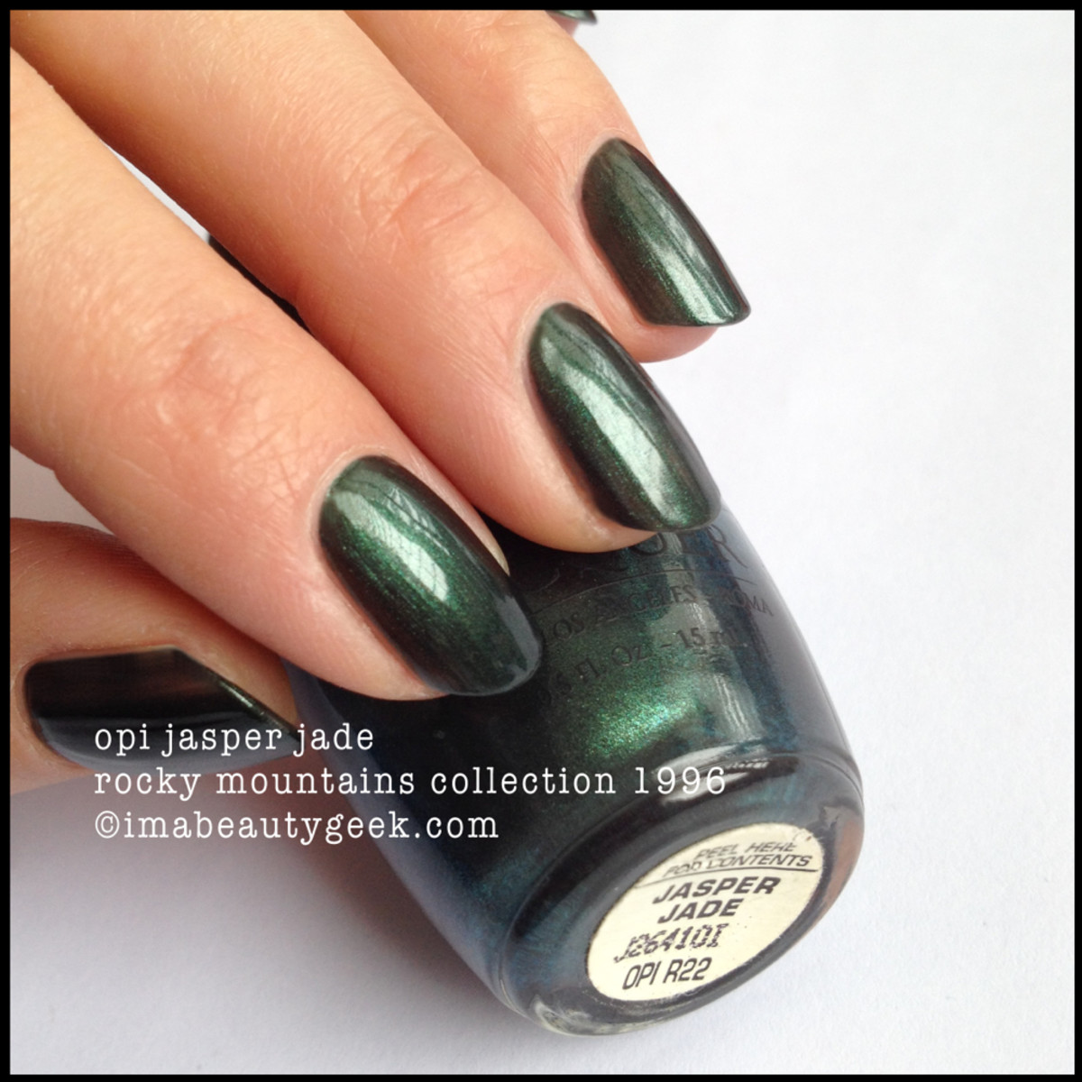 OPI Jasper Jade 1996 Rocky Mountains Collection