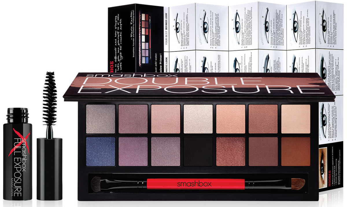 smashbox double exposure palette_mini mascara_application chart_enter to win