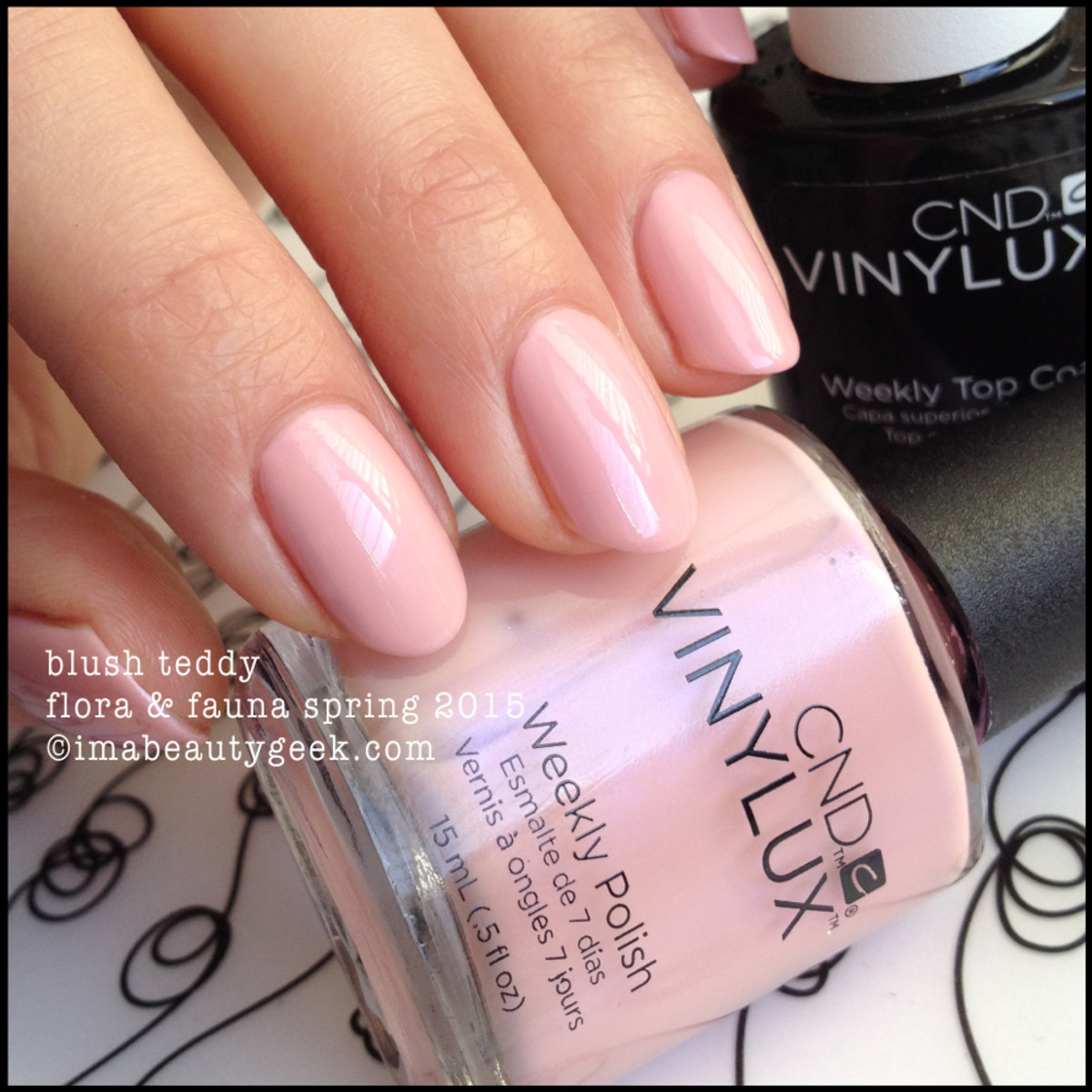 CND Vinylux Blush Teddy Flora and Fauna Spring 2015