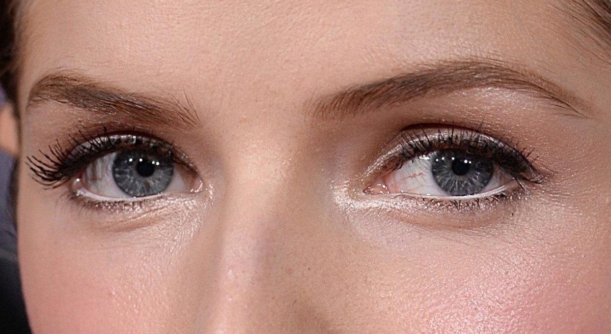 Anna Kendricks Golden Globes 2015 eye makeup close-up_perfect for brides