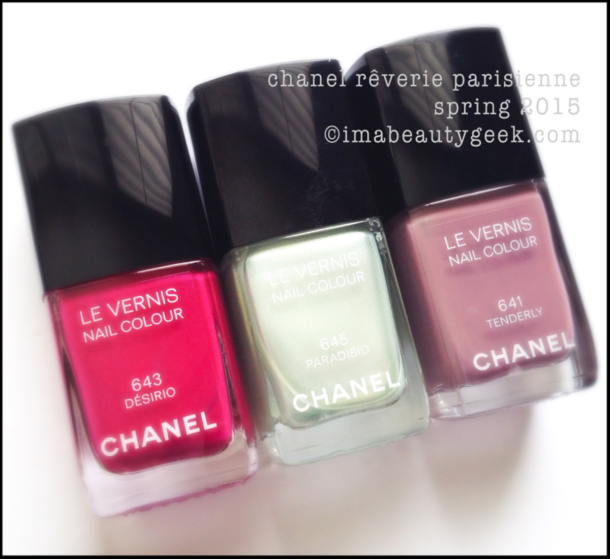 Chanel Reverie Parisienne Vernis Spring 2015