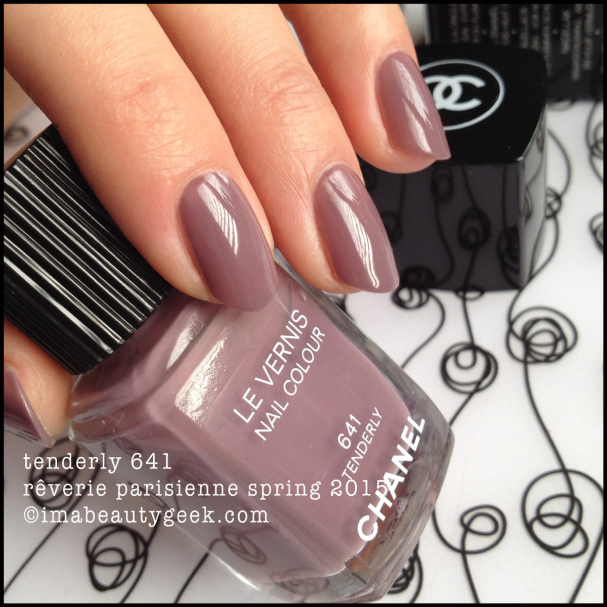 Chanel Tenderly 641 Reverie Parisienne spring 2015