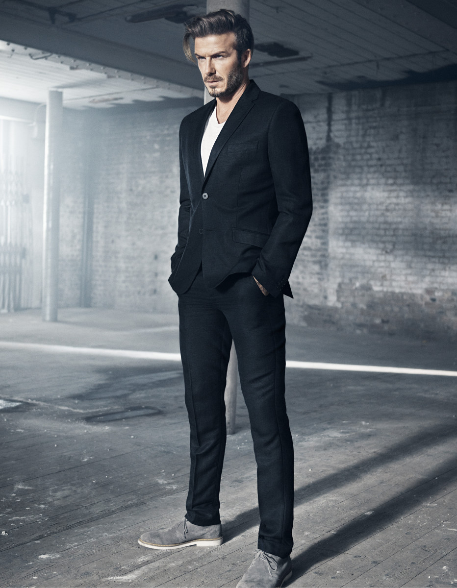 H&M Modern Essentials Selected by David Beckham_the linen jacket