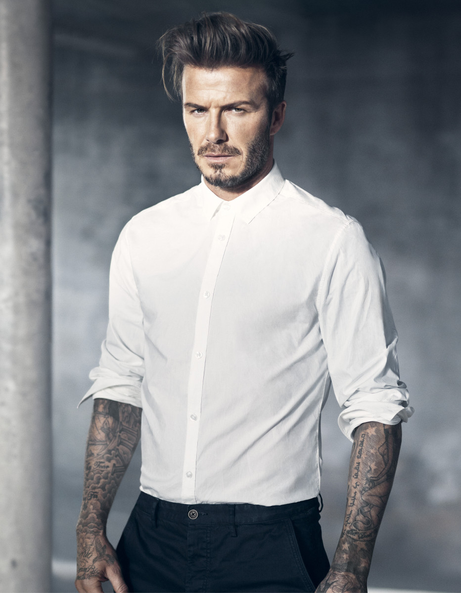 H&M Modern Essentials Selected by David Beckham_the white poplin shirt