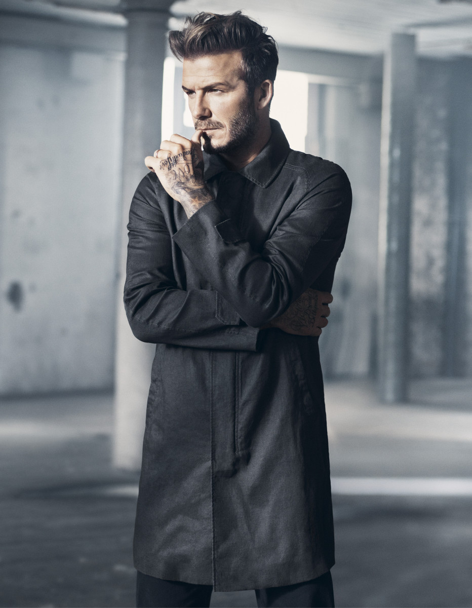 H&M Modern Essentials Selected by David Beckham_the car coat