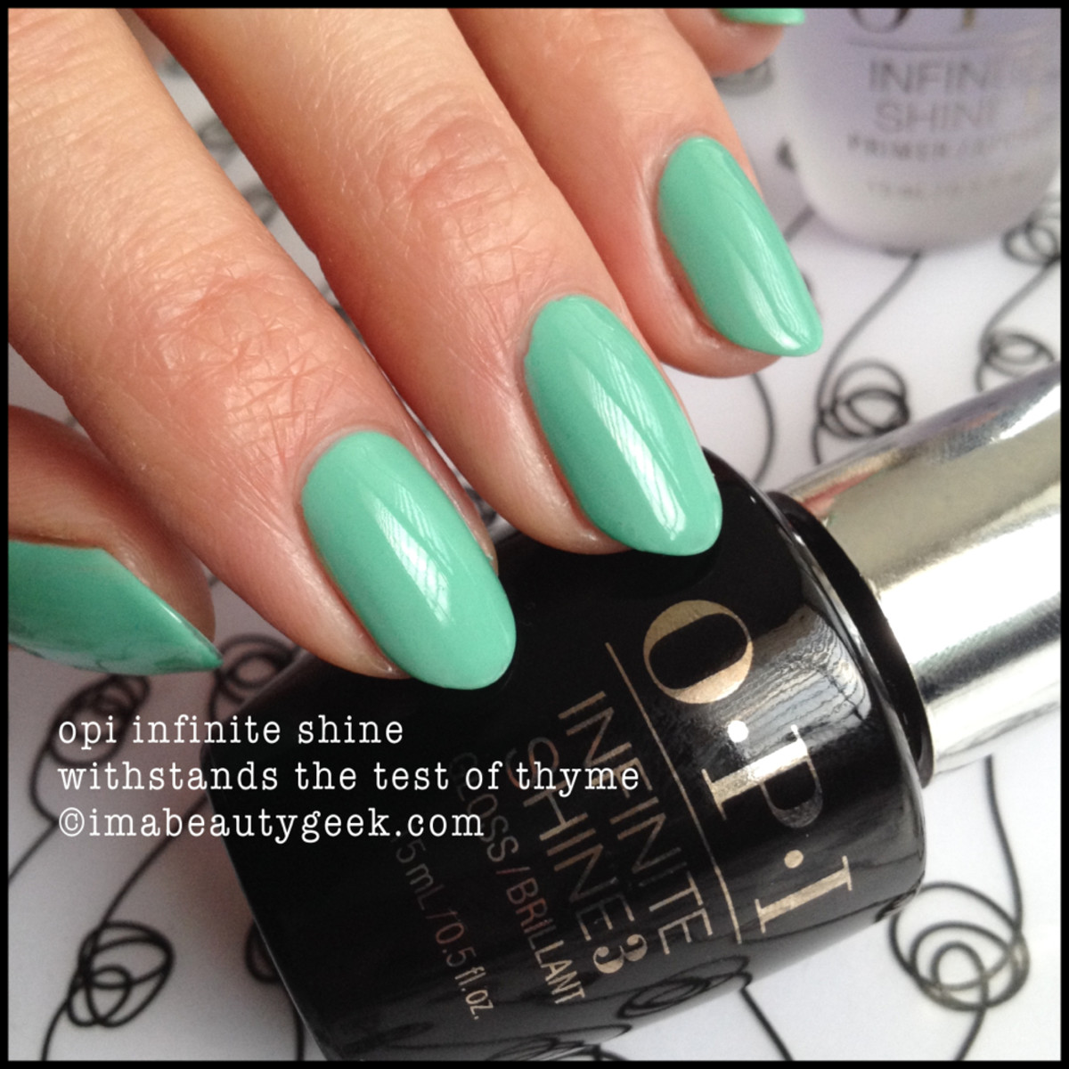 OPI Withstands the Test of Thyme Infinite Shine
