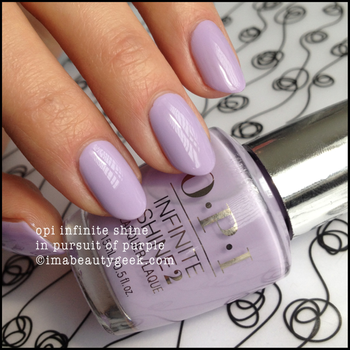 OPI Infinite Shine In Pursuit of Purple
