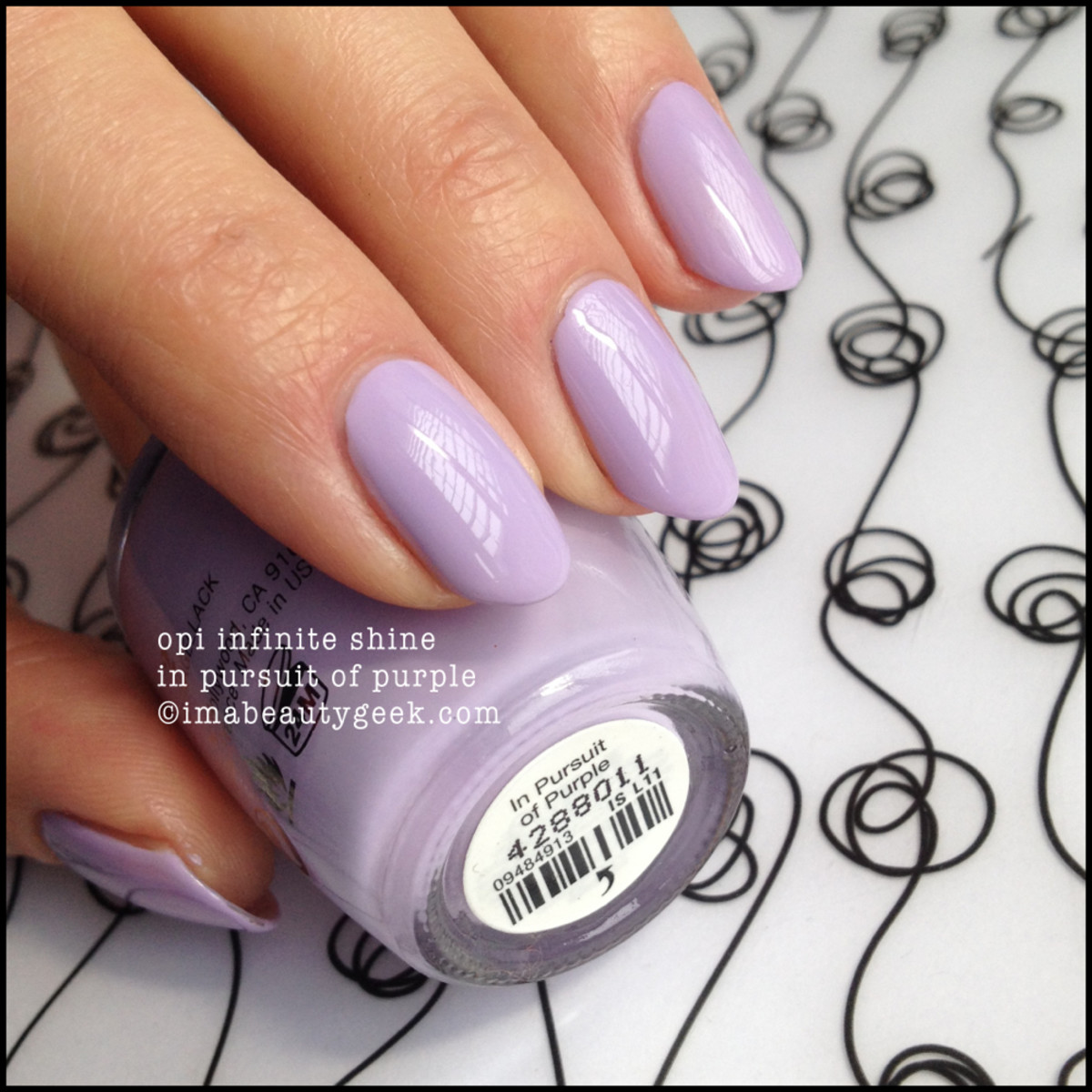 OPI In Pursuit of Purple Infinite Shine Launch Shade