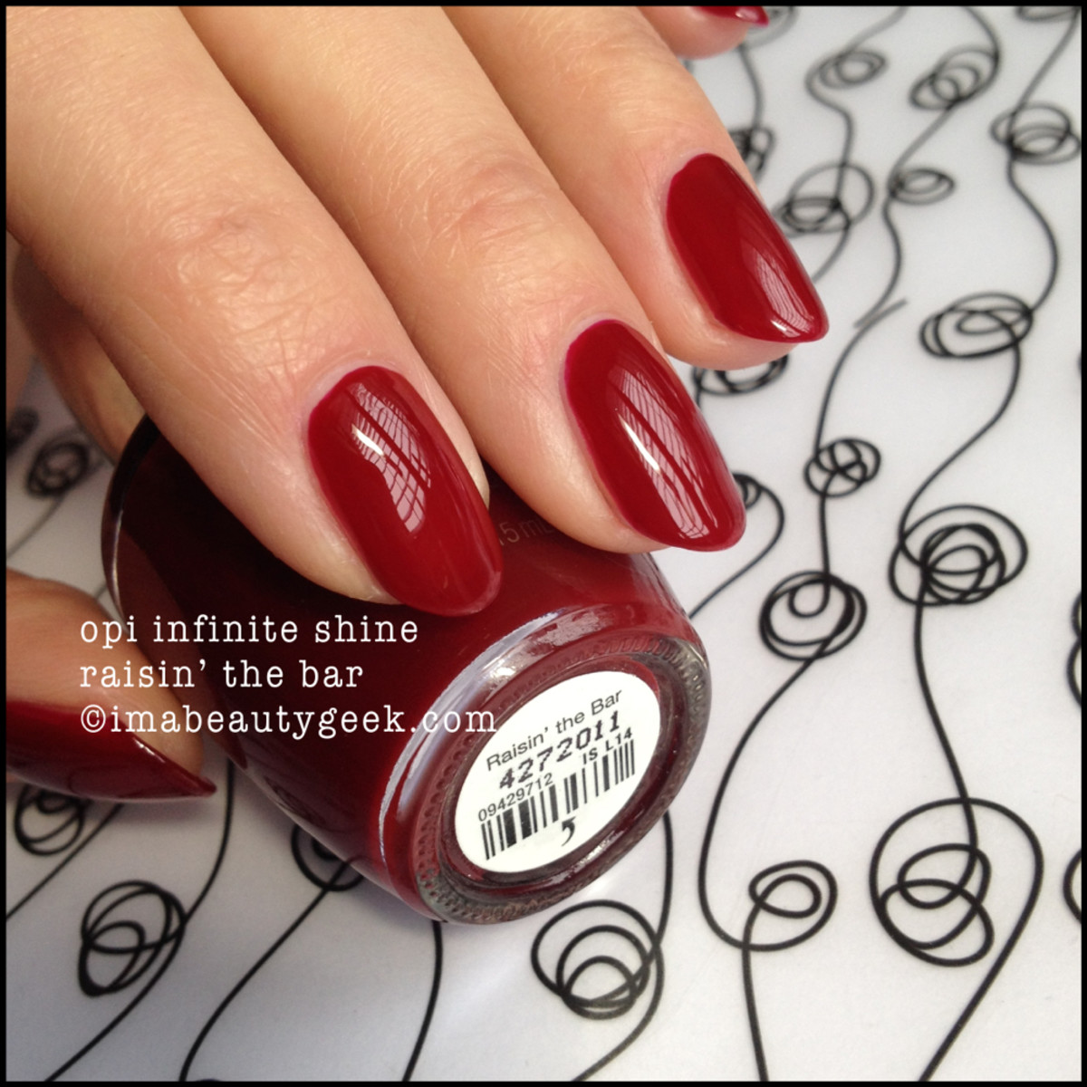 OPI Raisin the Bar Infinite Shine 2015