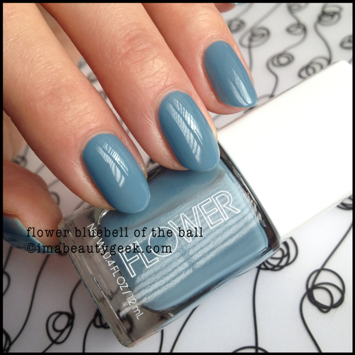 Flower Beauty Polish Bluebell of the Ball
