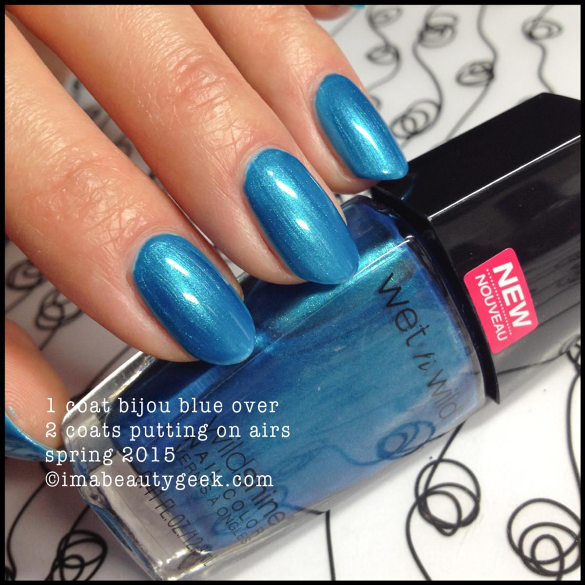 Wet n Wild Bijou Blue
