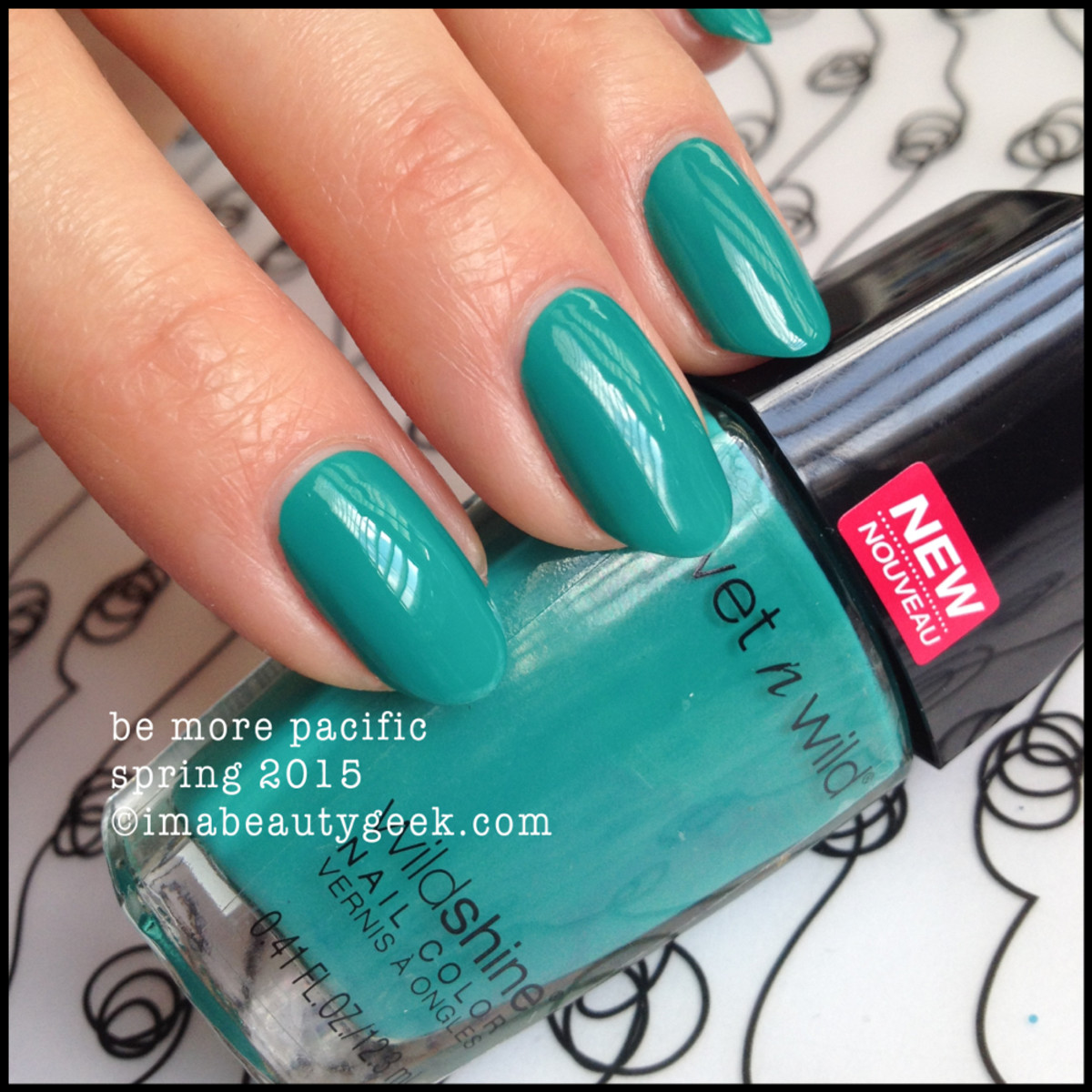 Wet n Wild Polish Spring 2015 Be More Pacific