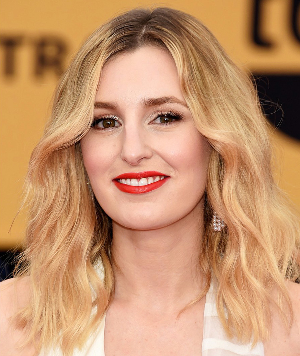 Laura Carmichael SAG Awards 2015 makeup and hair