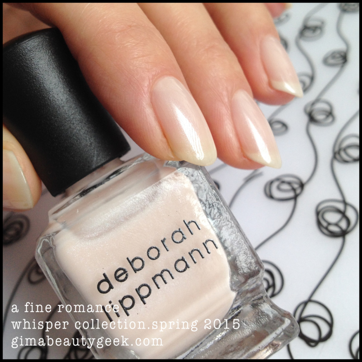 Deborah Lippmann A Fine Romance Whisper Collection Spring 2015