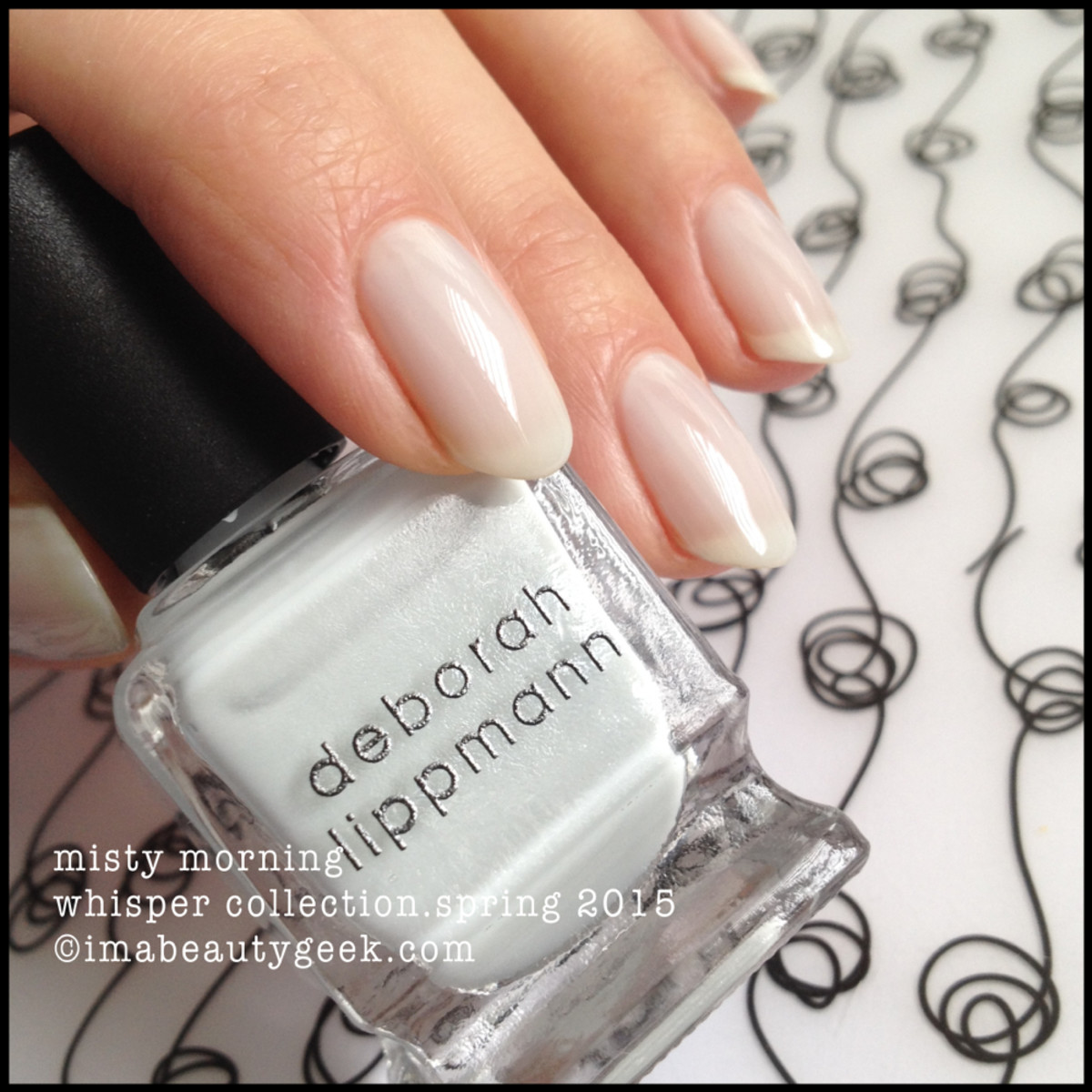 Deborah Lippmann Misty Morning Whisper Collection Spring 2015