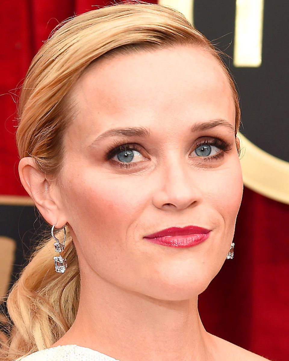 Reese Witherspoon_SAG Awards 2015 makeup_for blue eyes