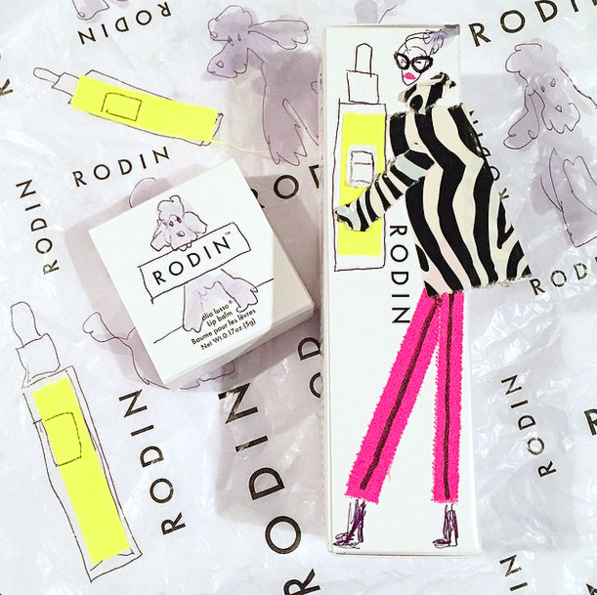"Donald ""Drawbertson"" Robertson_Linda Rodin and Winks"