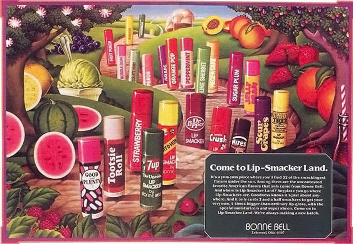 Bonne Bell Lip Smacker ad 1973