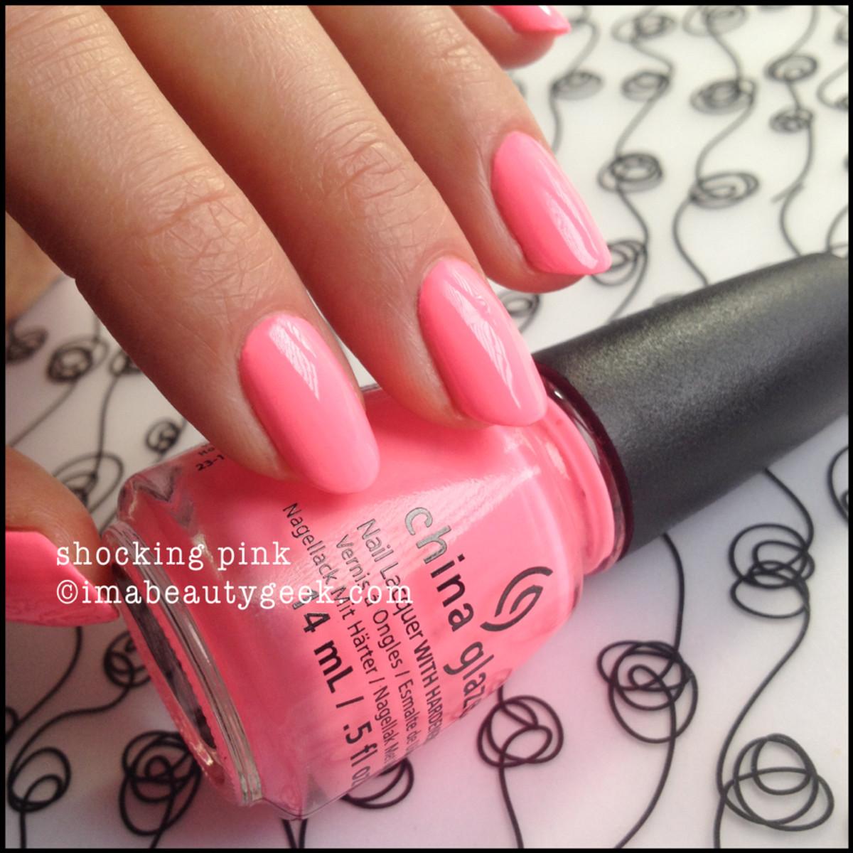 China Glaze Shocking Pink Neon_1