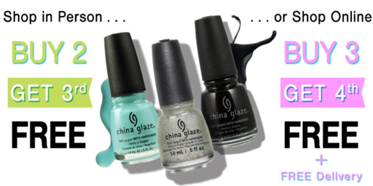 China Glaze Sale Feb 2015 Trade Secrets