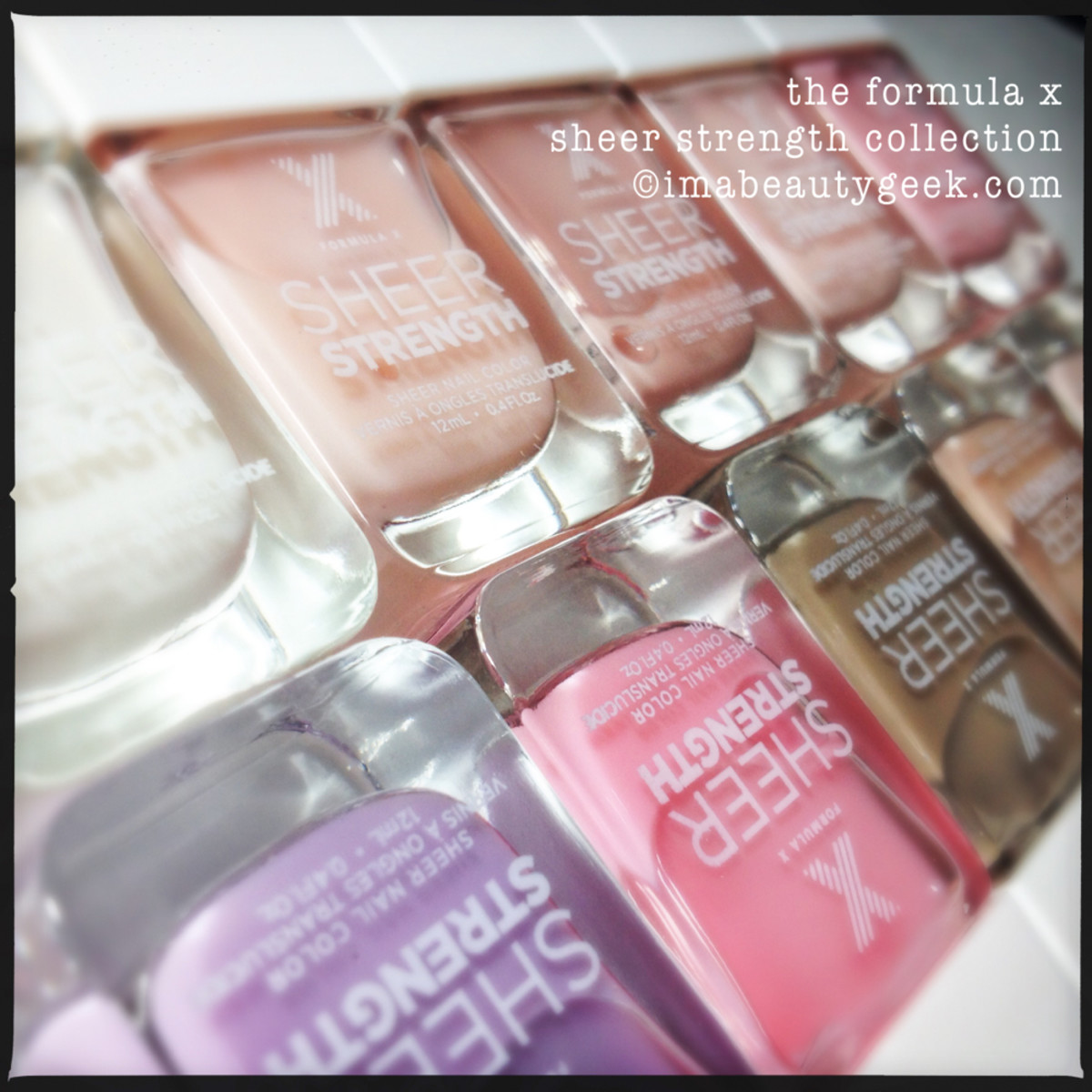 Formula X Sheer Strength Collection 2nd