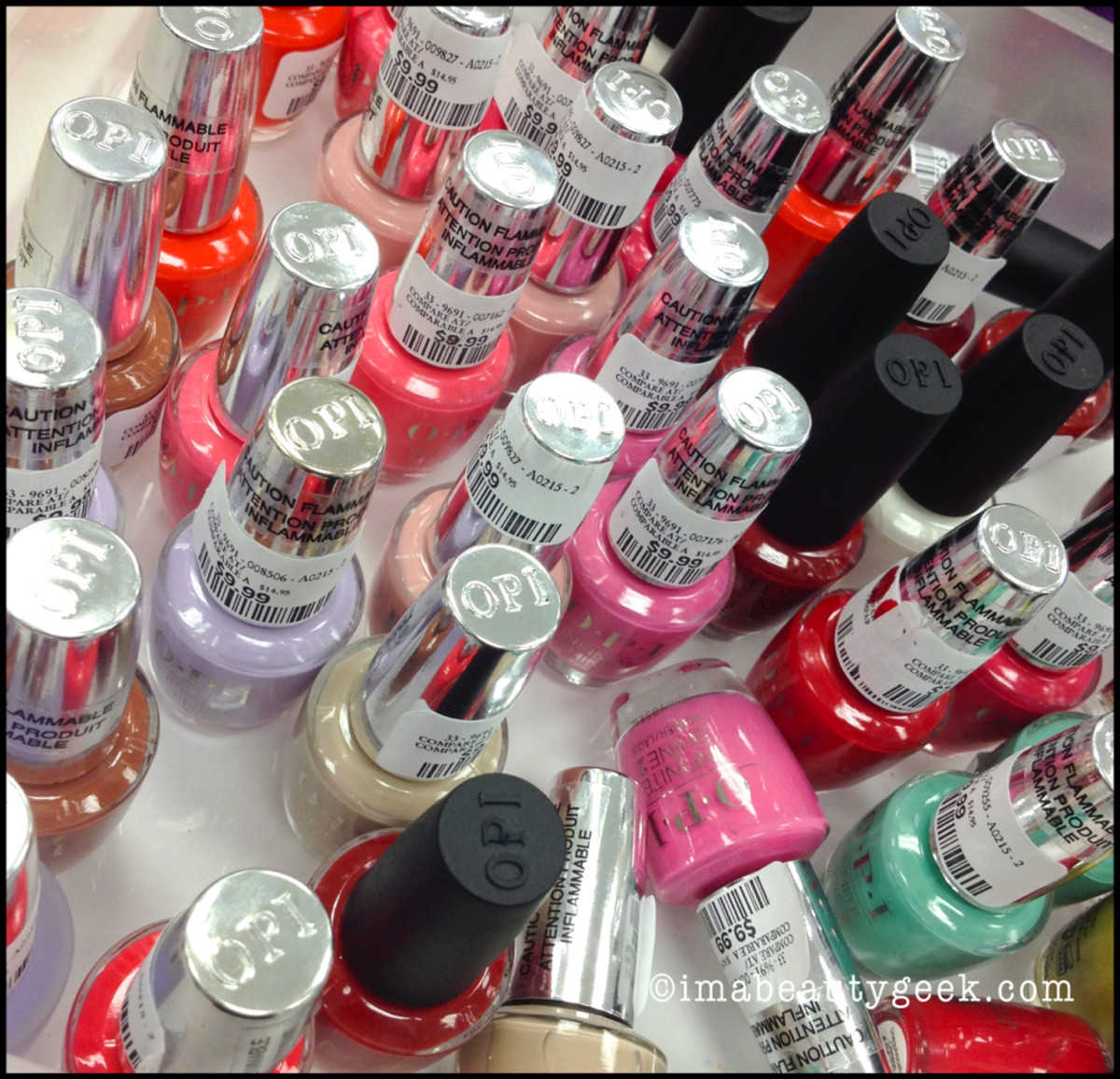 OPI Infinite Shine at Winners Feb 4