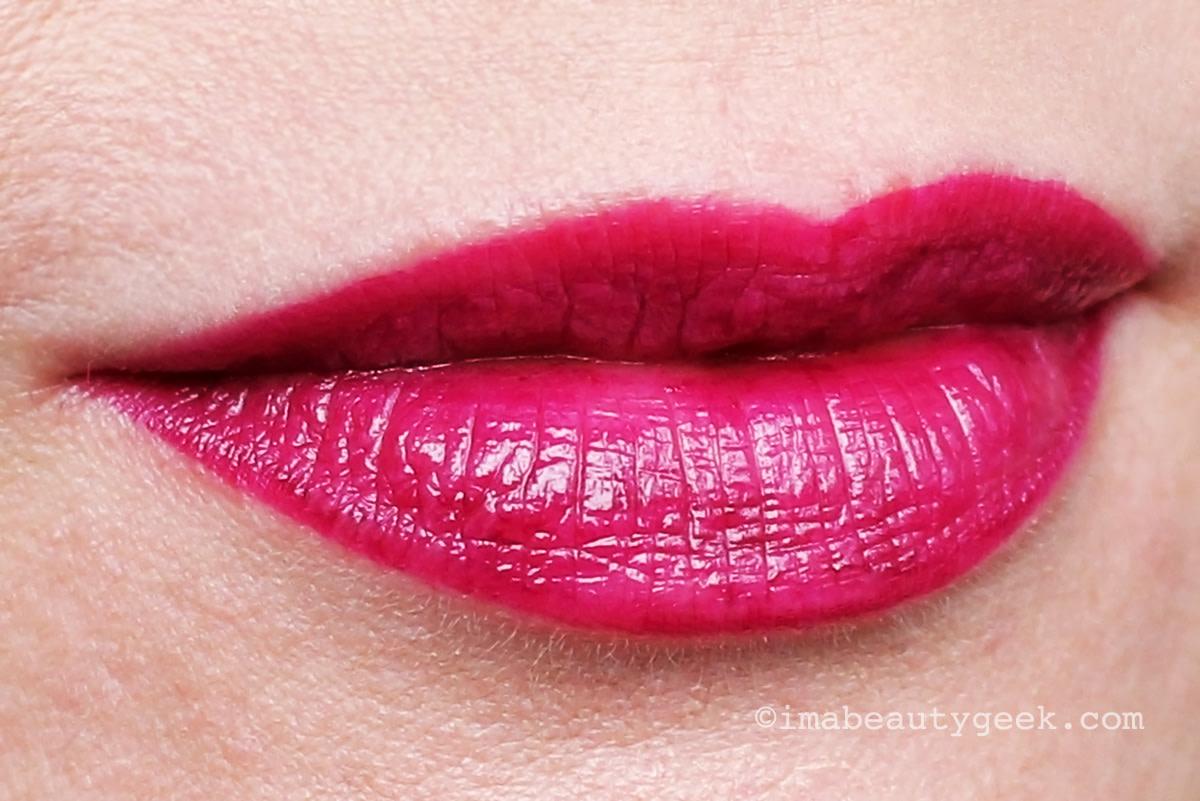 L'Oreal Paris Infallible 2-Step Lipcolour, longwear colour in Raisin Revival 215