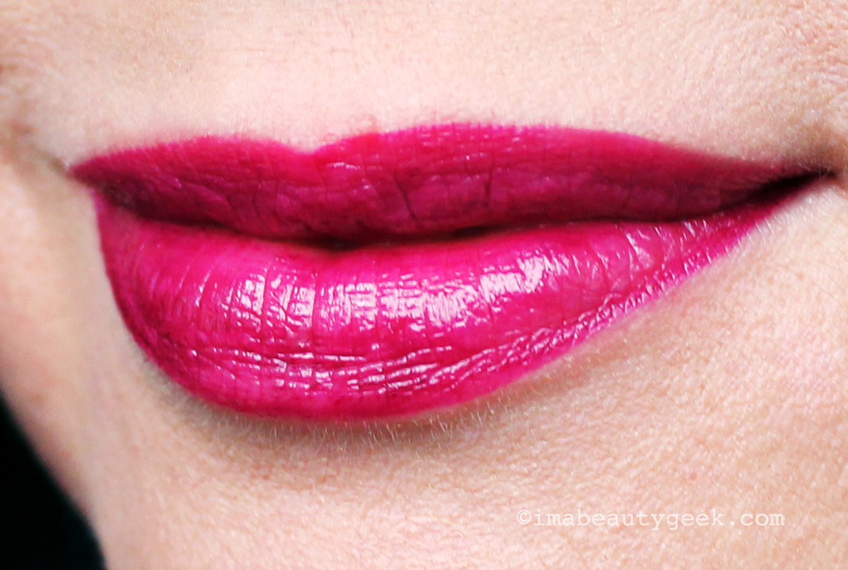 L'Oreal Paris Infallible Lipstick in Raisin Revival, liquid long-last colour plus comfortable shine balm