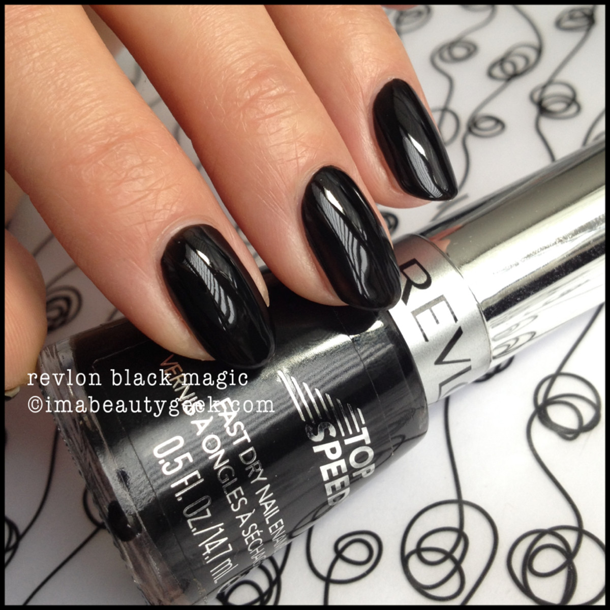 Revlon Top Speed Black Magic