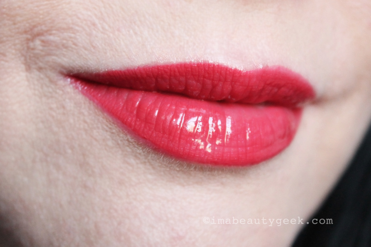 Chanel Rouge Double Intensite Ultra Wear Lip Color in Strawberry Red
