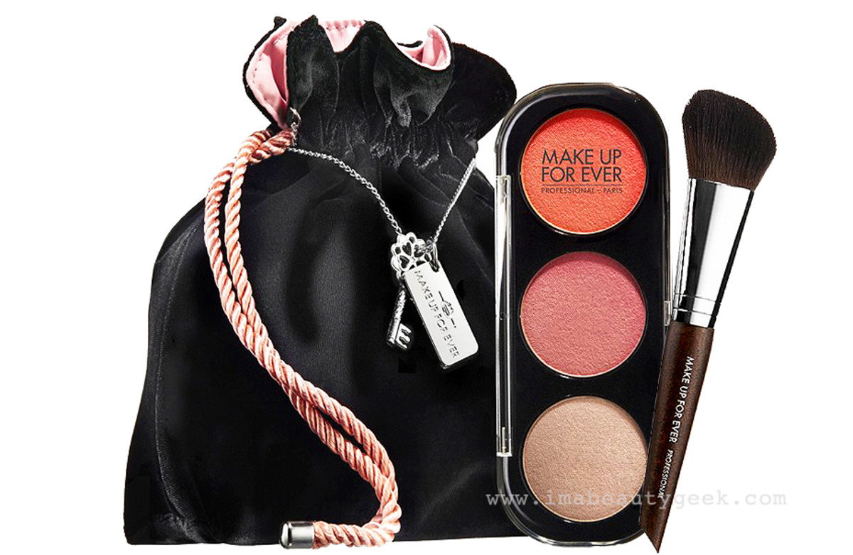Make Up For Ever 50 Shades of Grey Desire Me Cheek Set