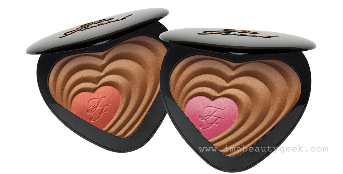 Too Faced Soul Mates Blushing Bronzer_Carrie/Mr.Big and Ross/Rachel