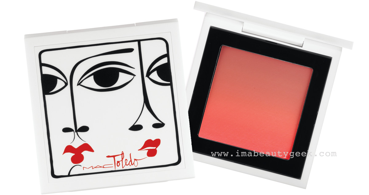 MAC Isabel and Ruben Toledo Ombre Blush in Azalea Blossom