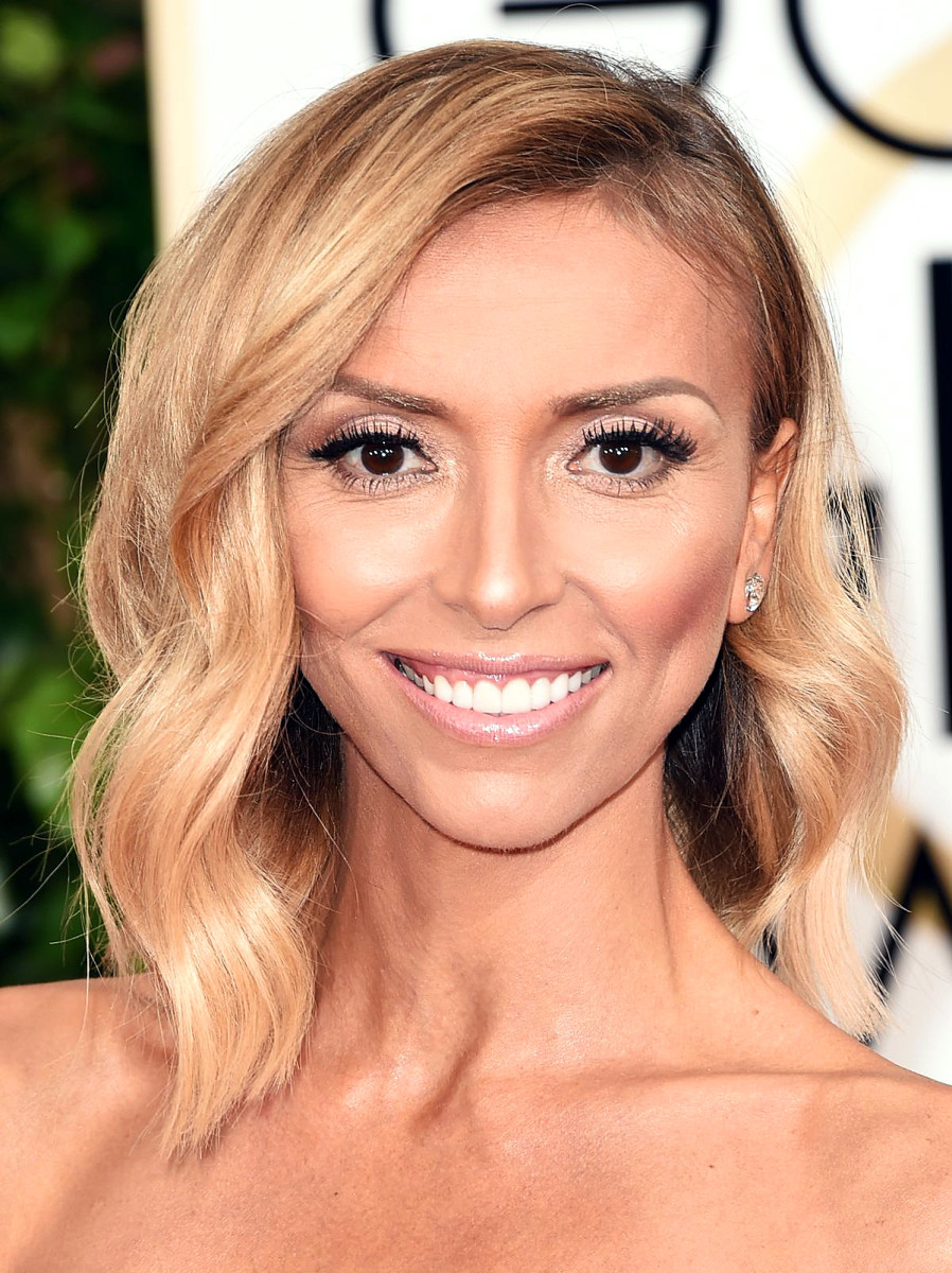 giuliana rancic in obvious contouring at the 2015 golden globes