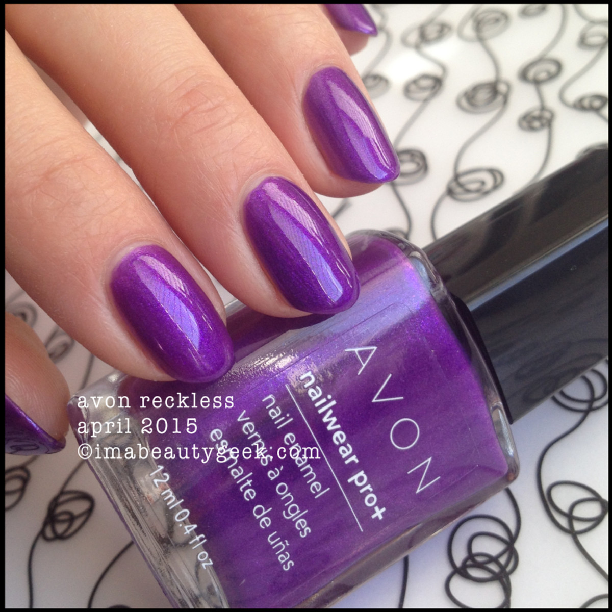 Avon Electric Shades Nailwear Reckless April 2015
