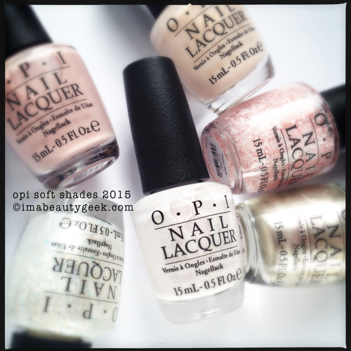 OPI Soft Shades 2015 Collection Beautygeeks