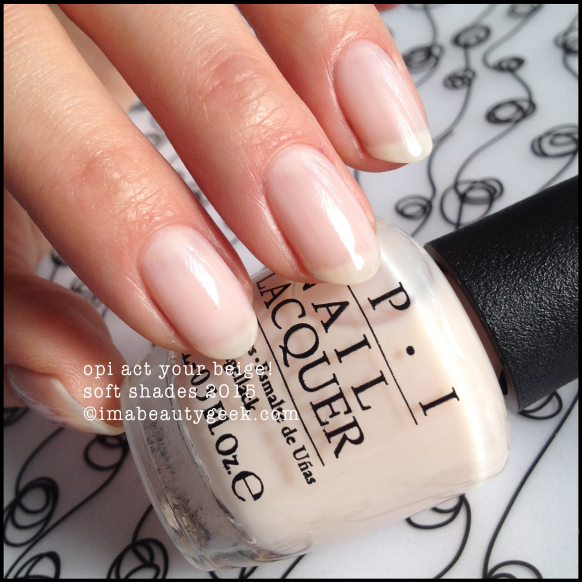 OPI Soft Shades 2015 Act Your Beige!