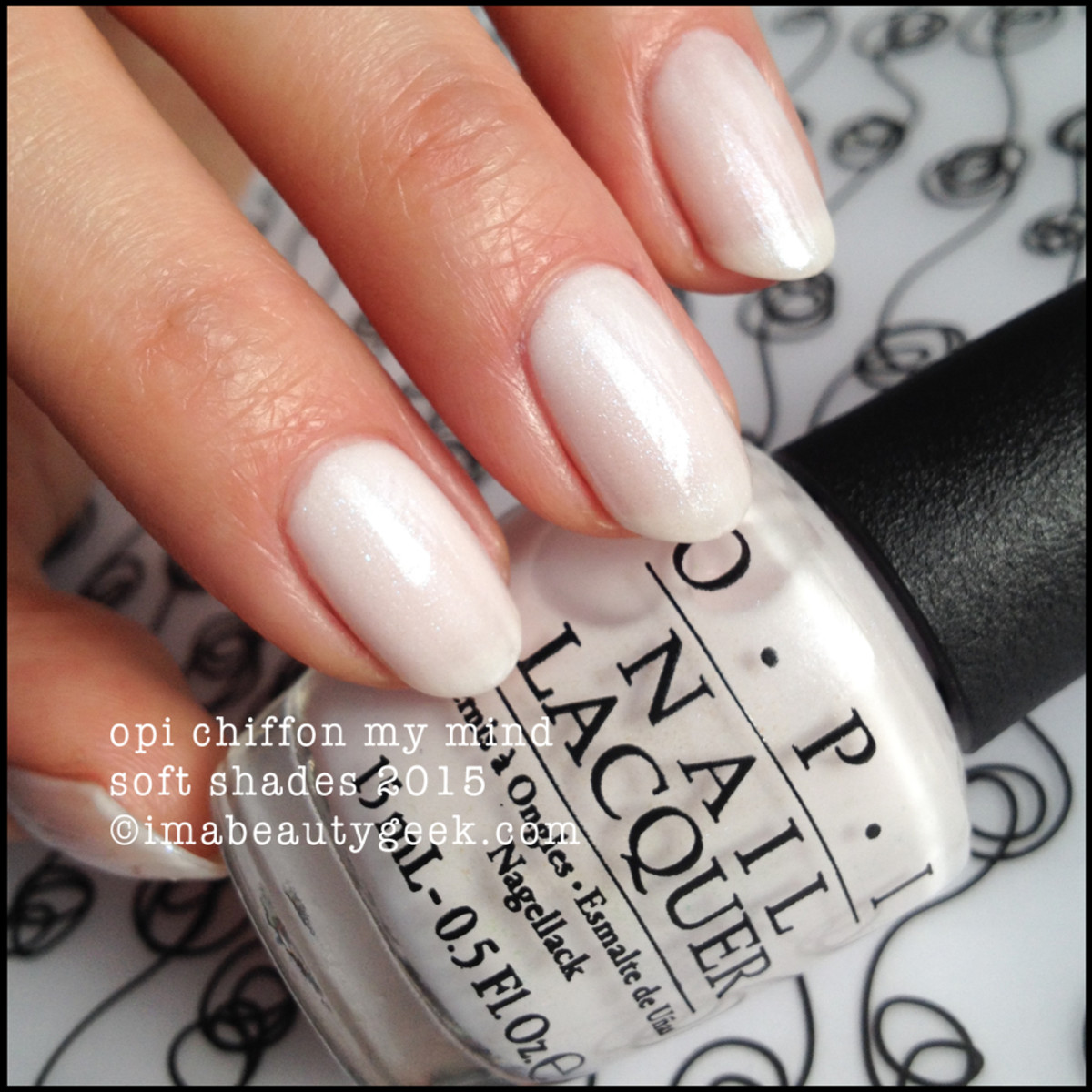 OPI Soft Shades 2015 Chiffon My Mind